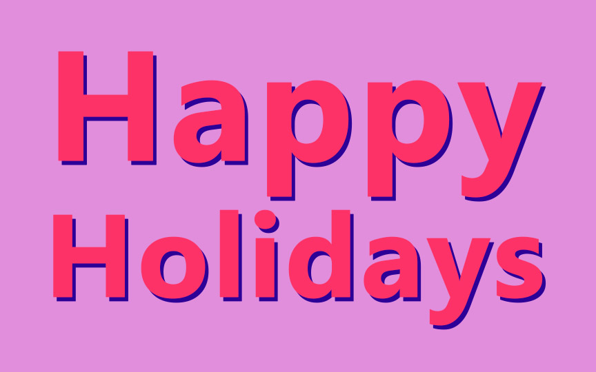 Happy Holidays from Facial-Flex!