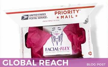 Did You Know: Facial-Flex Ships Worldwide!